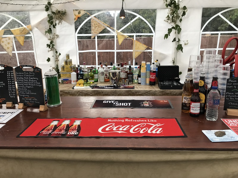 Simple well stocked bar 2019