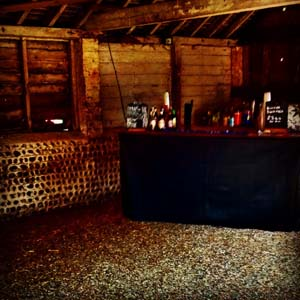 bar in a barn
